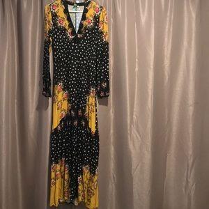 Size XS Anthropologie maxi dress